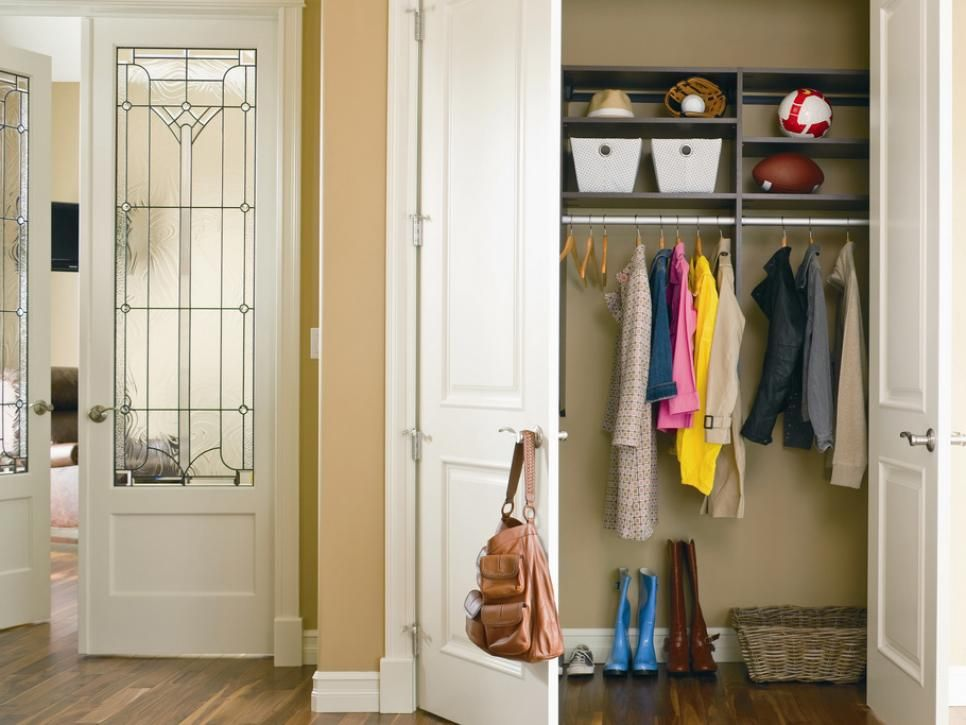 Hall Closets Typically Have A Single Door But Bi Folds Are A Good Option Too Depending On The Bedroom Closet Doors Entry Closet California Closets