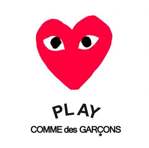 「PLAY COMME des GARÇONS ロゴ」の画像検索結果