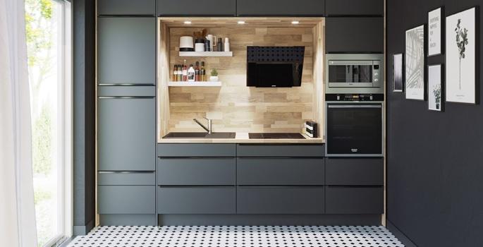 Toutes Nos Cuisines Conforama Sur Mesure Montees Ou Cuisines Budget En 2020 Meuble Cuisine Cuisine Conforama Mobilier De Salon