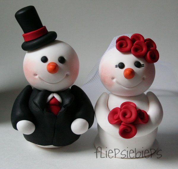 Snowman Wedding Cake Topper | Wedding cake, Snowman and Xmas