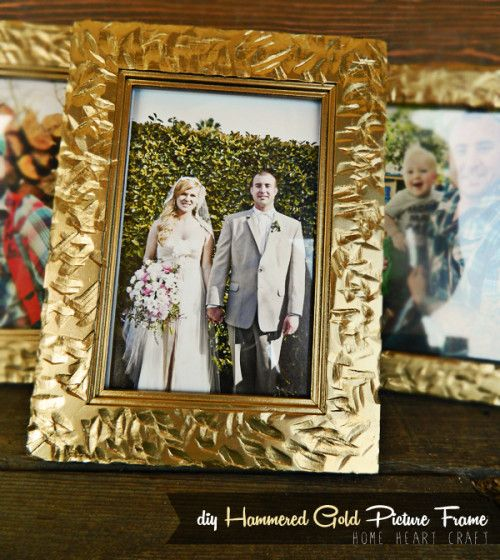 Frugal diy hammered gold frames the diy adventures upcycling frugal diy hammered gold frames the diy adventures upcycling recycling and do solutioingenieria Gallery