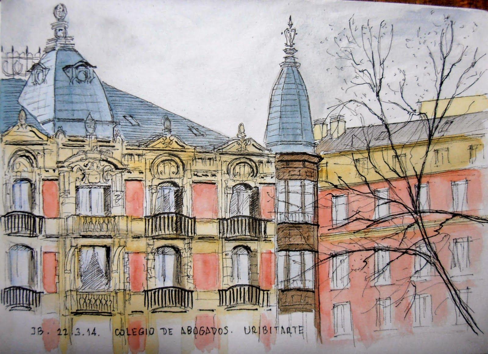 Casa aburto situada en rampas de uribitarte bilbao construida en 1904 por el arquitecto - Colegio arquitectos bilbao ...