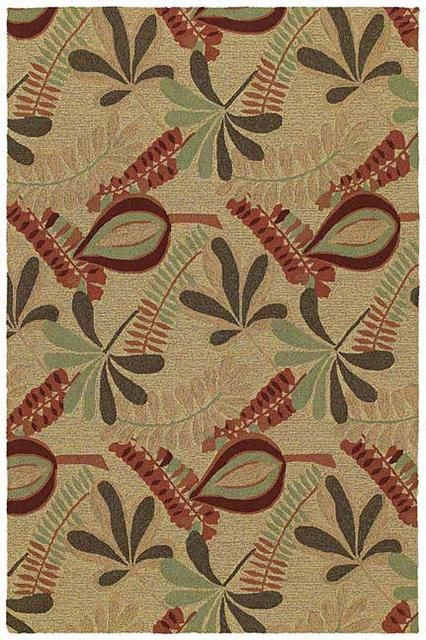 RugStudio presents Kaleen Home and Porch Tybee Linen 2005-42 Hand-Tufted, Good Quality Area Rug