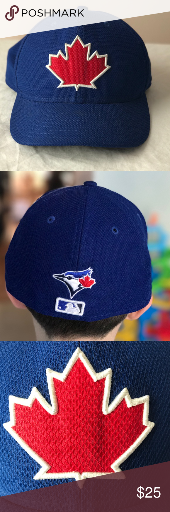 Toronto Blue Jays Fitted Cap Great condition. Mesh style New Era Accessories Hats