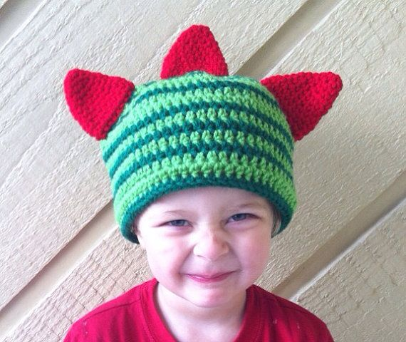 Brobee beanie by EnglishHouseCrafts on Etsy, $14.00
