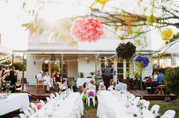 A DIY BACKYARD WEDDING: RACHEL JOHNNY   Diy backyard ...
