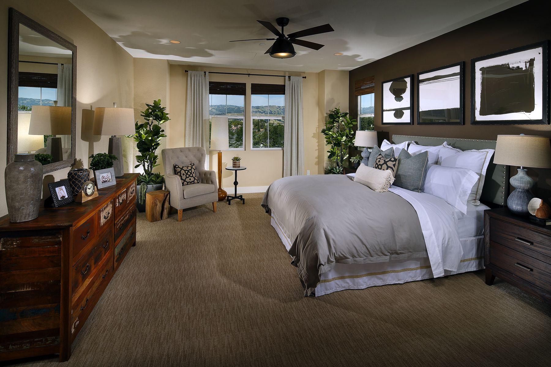 Master bedroom new design  Brighton Oaks Plan A Master Bedroom BrightonOaks MorganHill