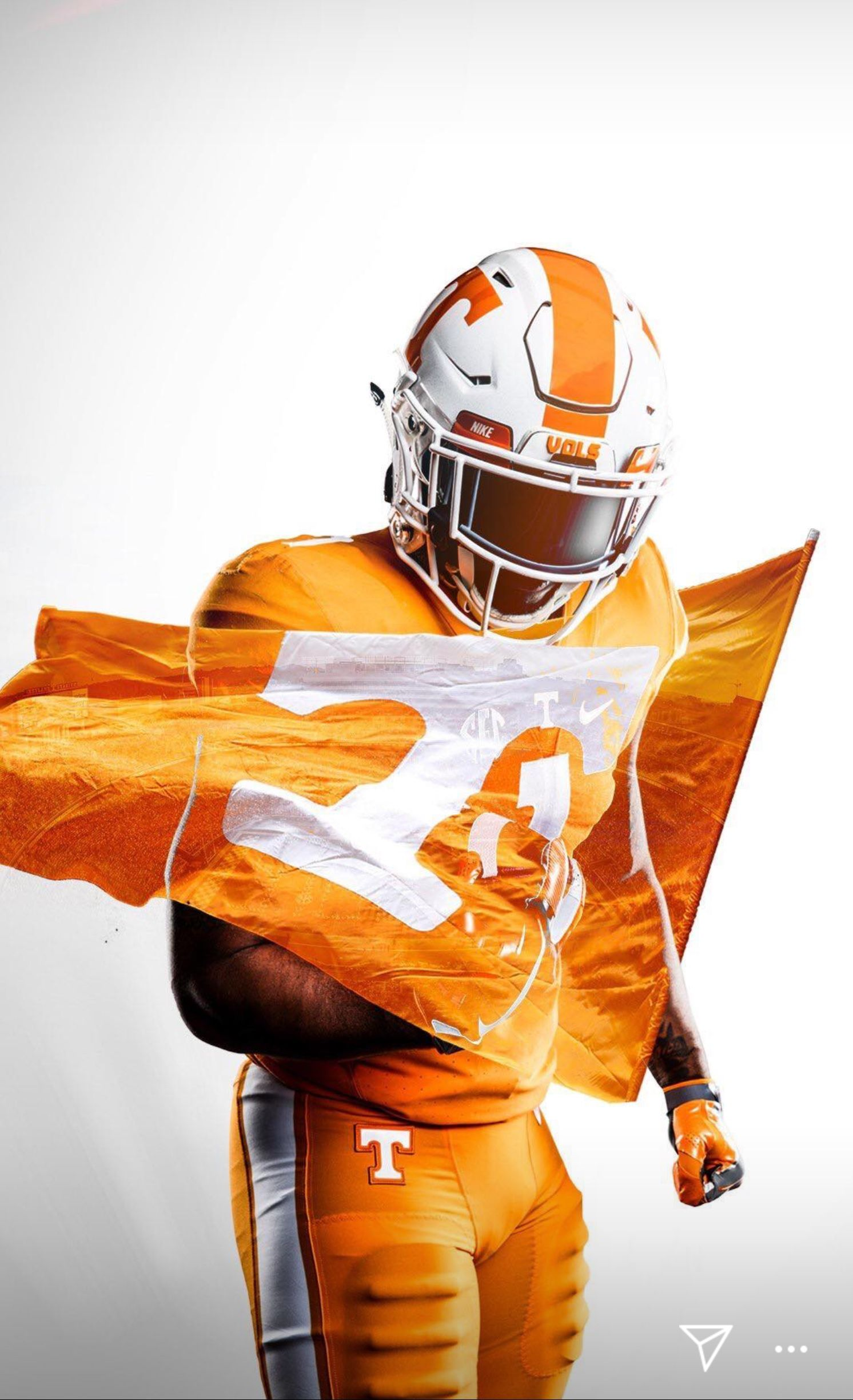 Gbo Vfl Sports Graphic Design Tennessee Volunteers Football Sports Design