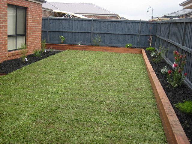 custom built planter boxes - melton merbau  landscaping  melton  vic  3337