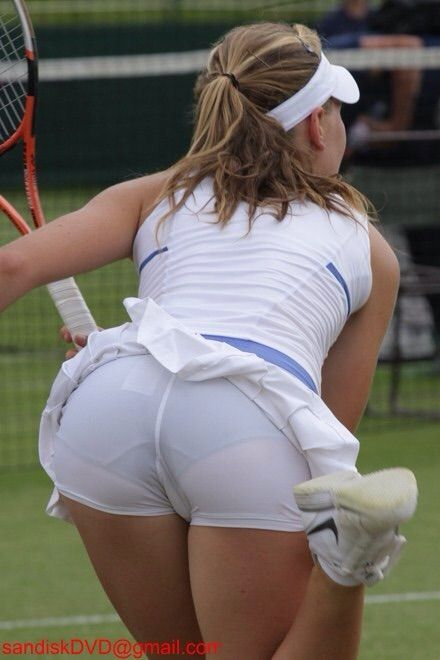 Know nothing Tenni upskirt maria sharapova
