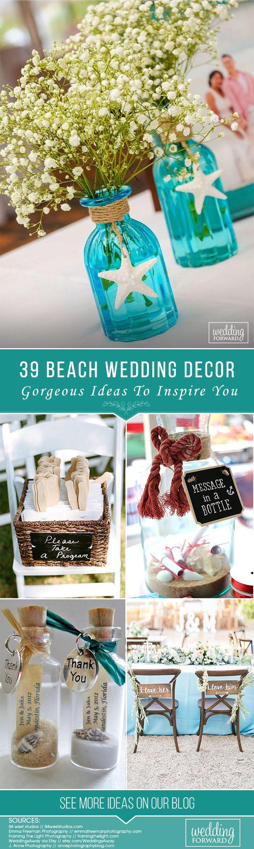 Beach wedding decoration ideas   Gorgeous Beach Wedding Decoration Ideas  Wedding Decorations