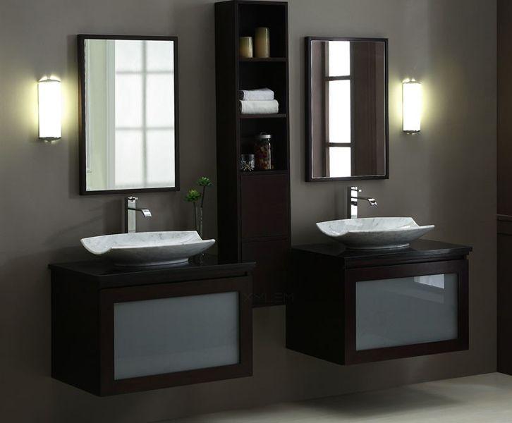Modular Bathroom Vanities Modern Los Angeles For Bathrooms