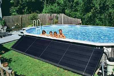 Sun2solar 2 X 20 Above Ground In Ground Swimming Pool Solar Panel W Kit Solar Pool Swimming Pool Solar Heating Solar