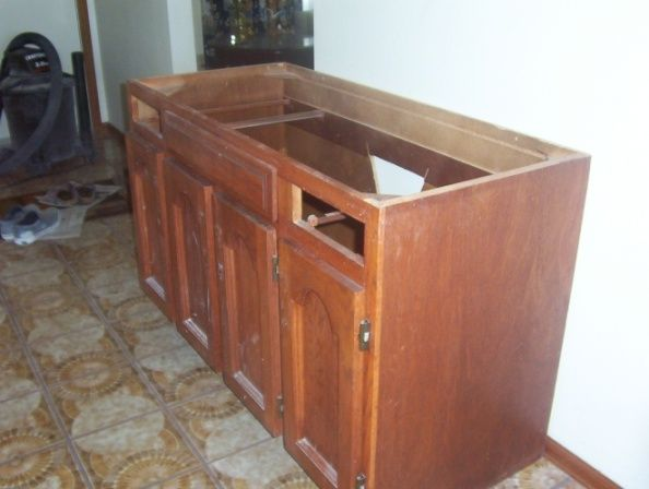 How To Refinish A Bathroom Vanity Httpwwwhouzzclubhtml - Refinish a bathroom