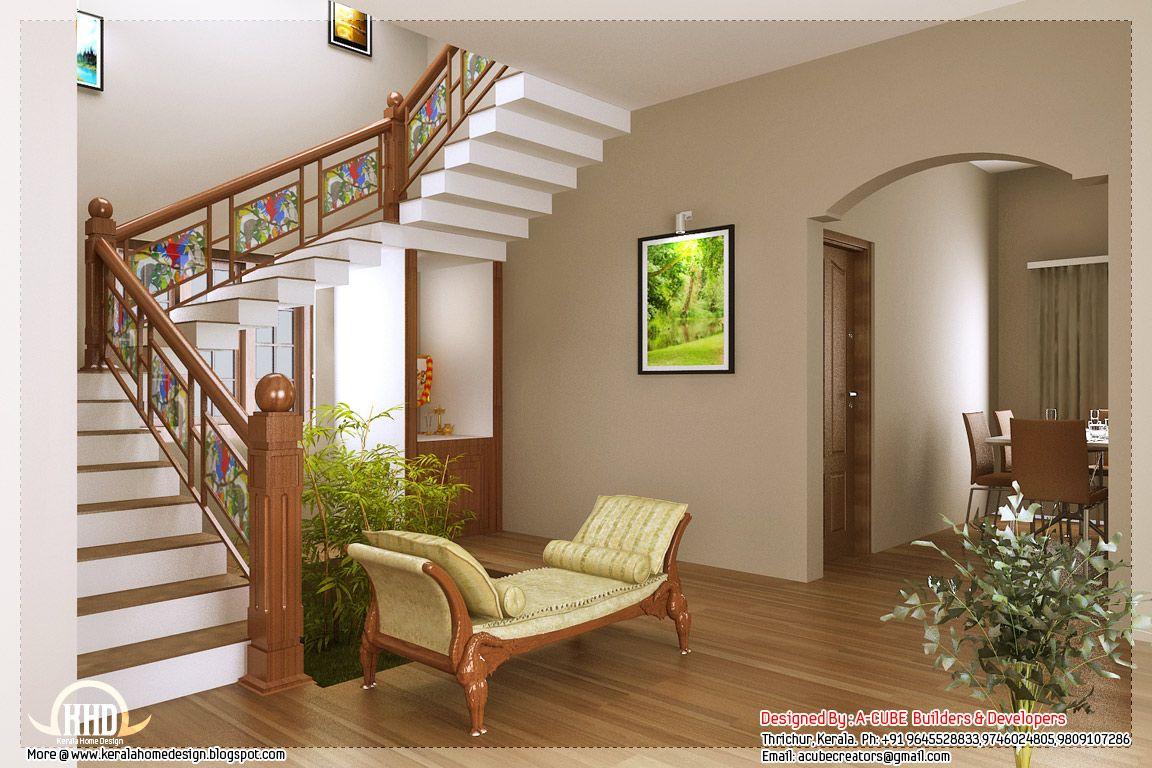 Home interior view kerala style home interior designs  house  pinterest  kerala