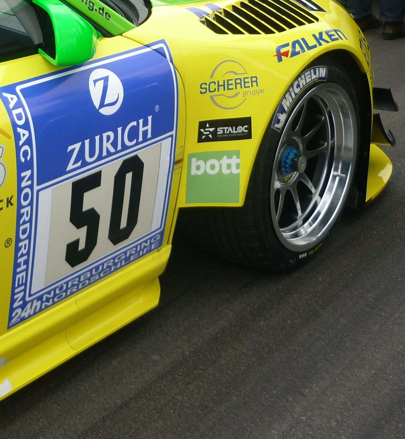 Manthey-Porsche detail