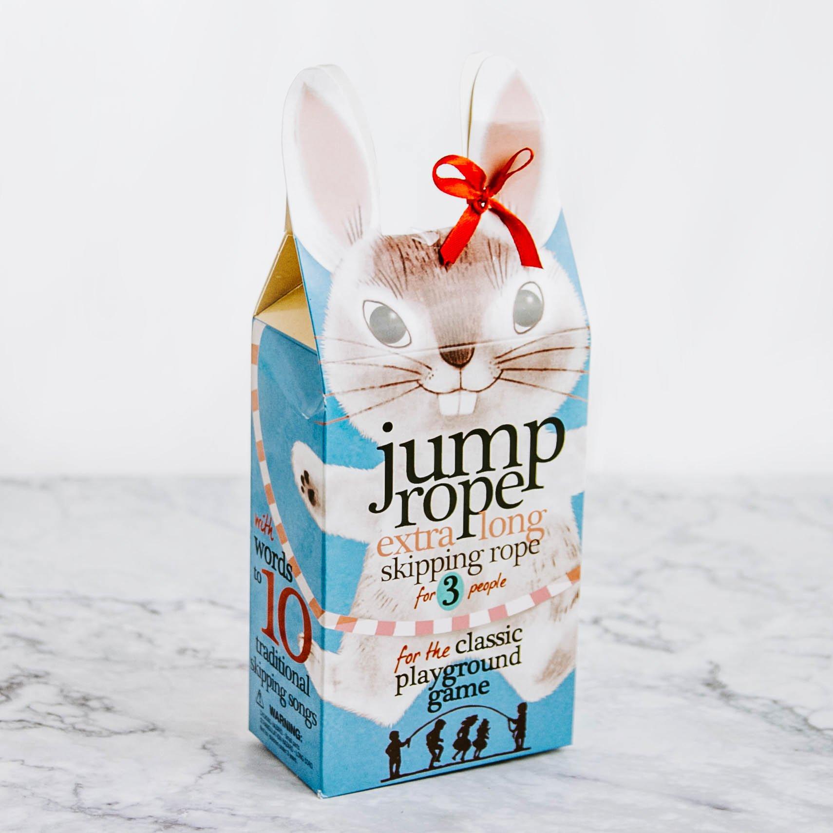 Bunny Jump Rope Bunny jump, Skipping rope, Playground games