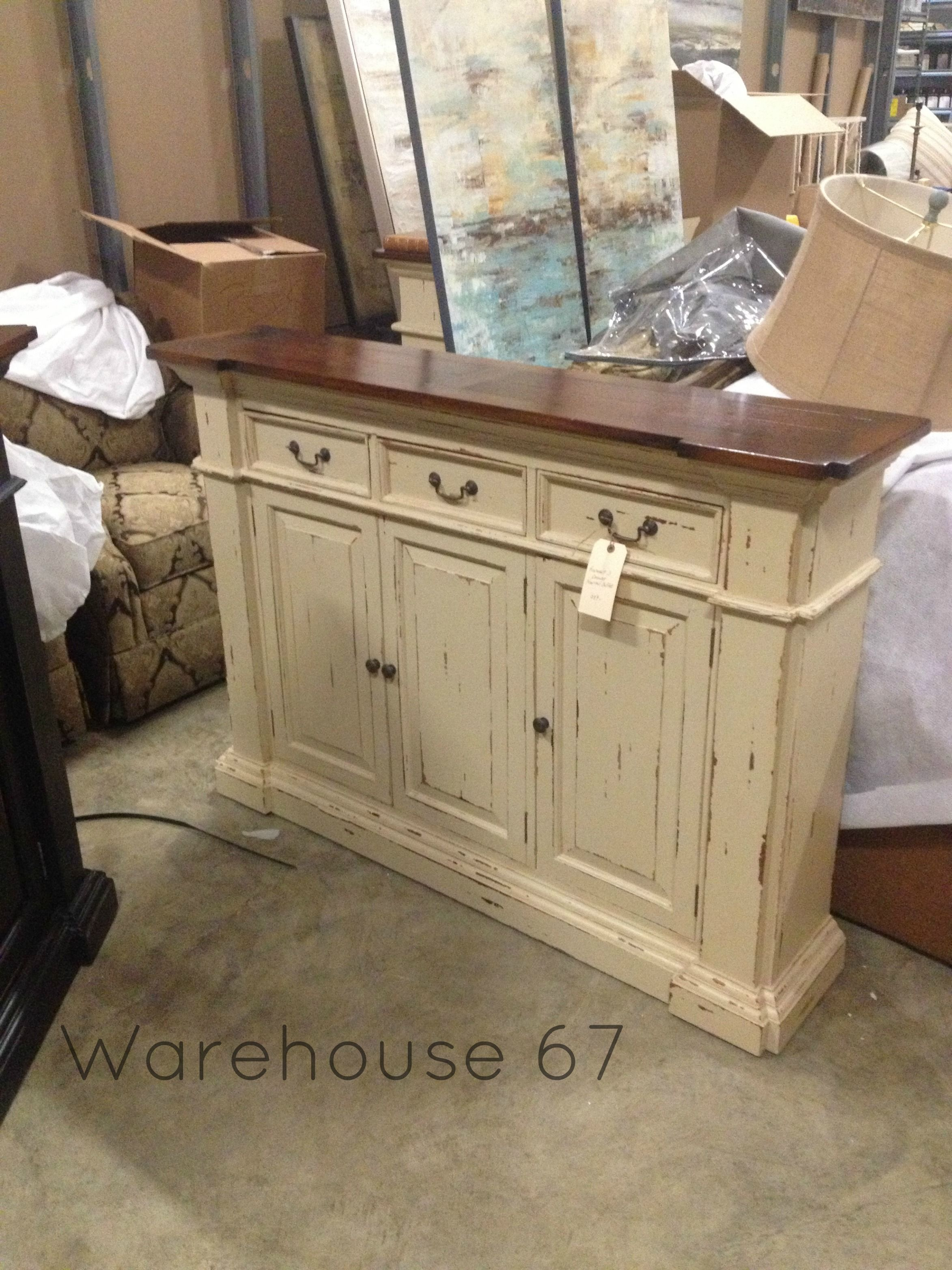 Roosevelt 3 Drawer Narrow Buffet Here At Warehouse 67 Only 989