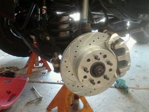 Jeep Wj Brake Knuckle Steering Conversion For 84 01 Jeep