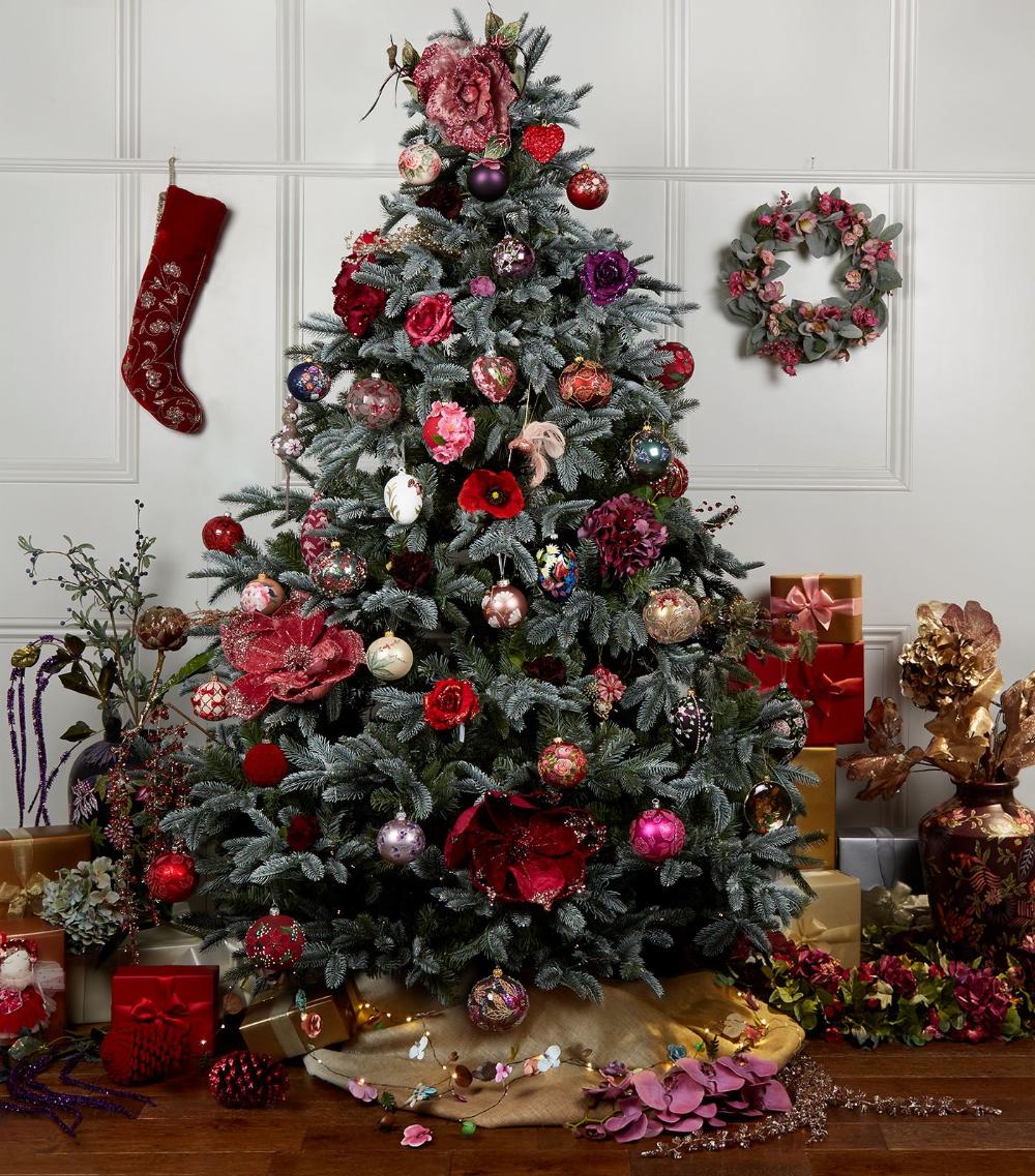 Harrods Glitter Embellished Paisley Bauble Harrods Com Christmas Decorations Harrods Christmas Christmas Decorations Tree