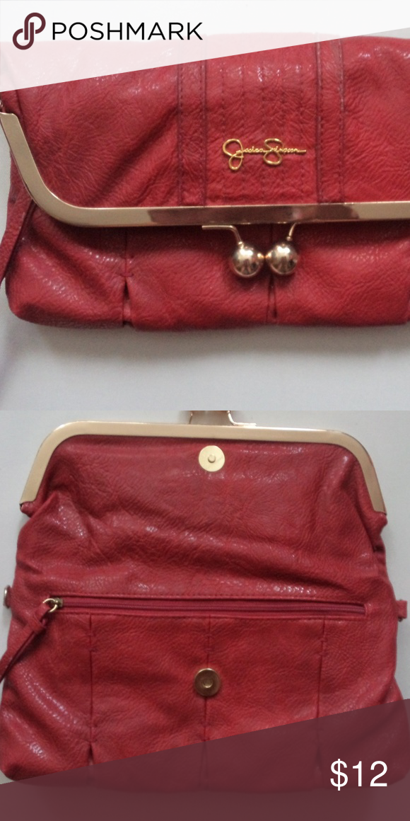 11f1787cb770 Jessica Simpson Clutch  Crossbody bag Amazing little red bag you can you  for a