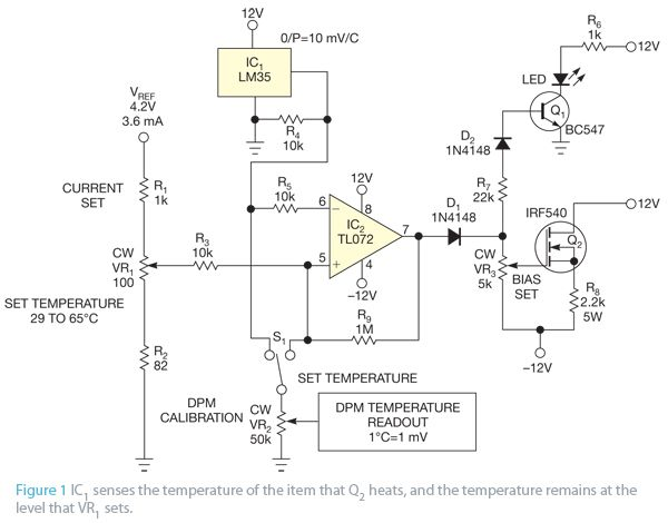 Use a transistor as a heater figure 1 techie pinterest circuit circuit diagram use a transistor as a heater figure 1 ccuart Image collections