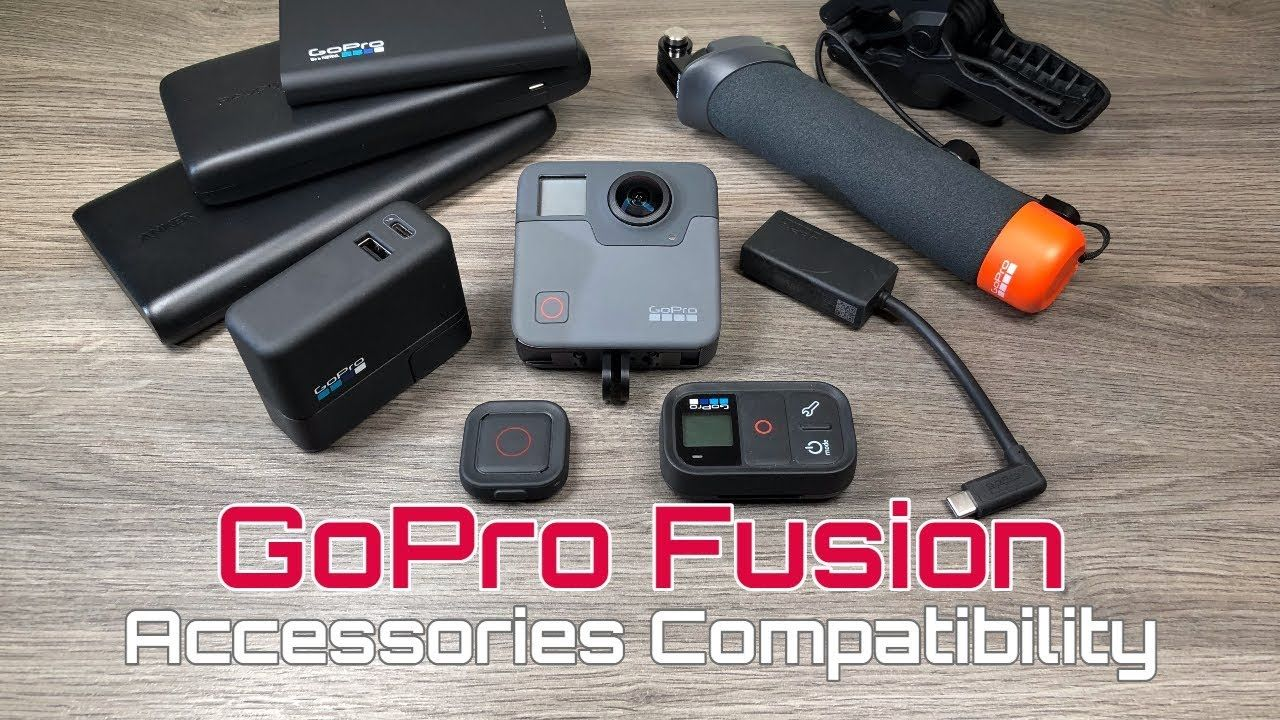 GoPro Fusion Accessories Compatibility List | Say Cheese