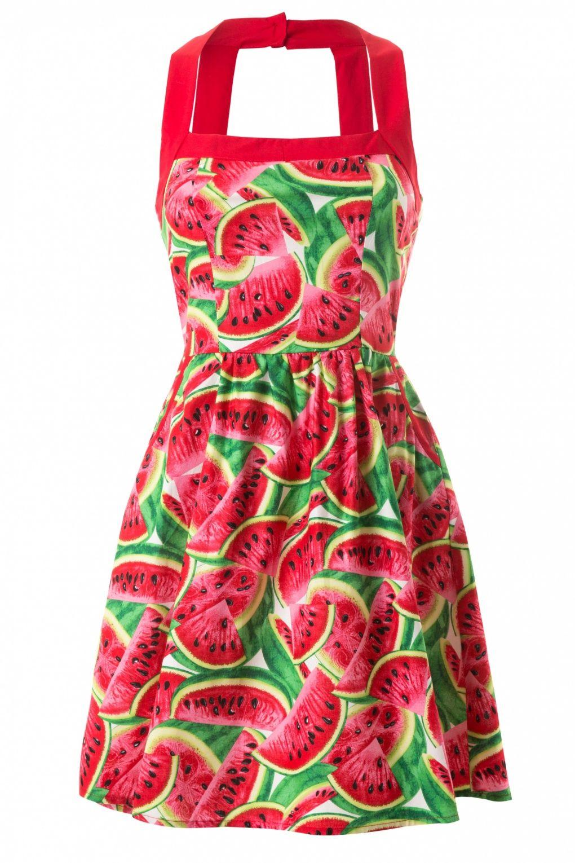 11522cf9130 Retrolicious - Watermelon Summer Dress Vintage Theme