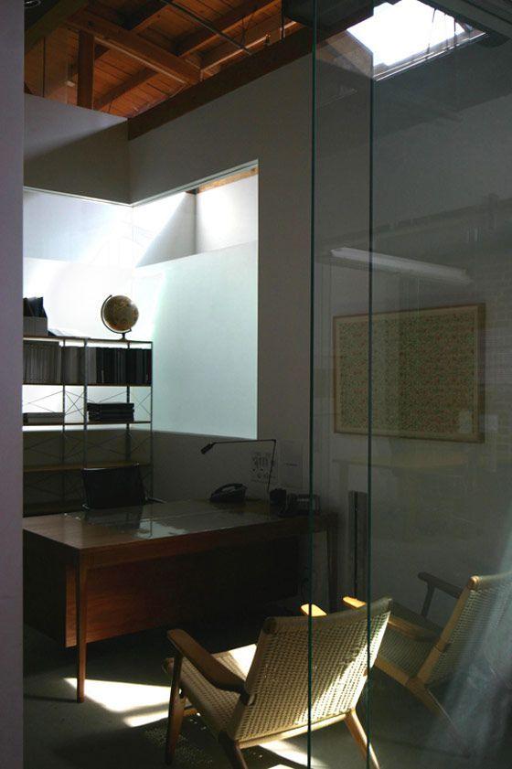 industrial modern office. Mid Century Modern Industrial Office \u2013 Bruce Bolander