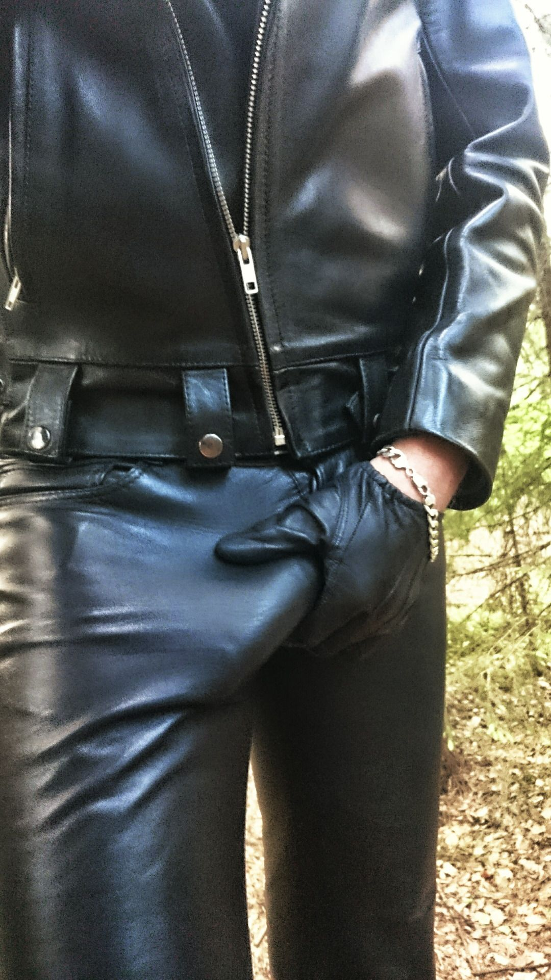 Leather Pants Naked Gay Porn Pics