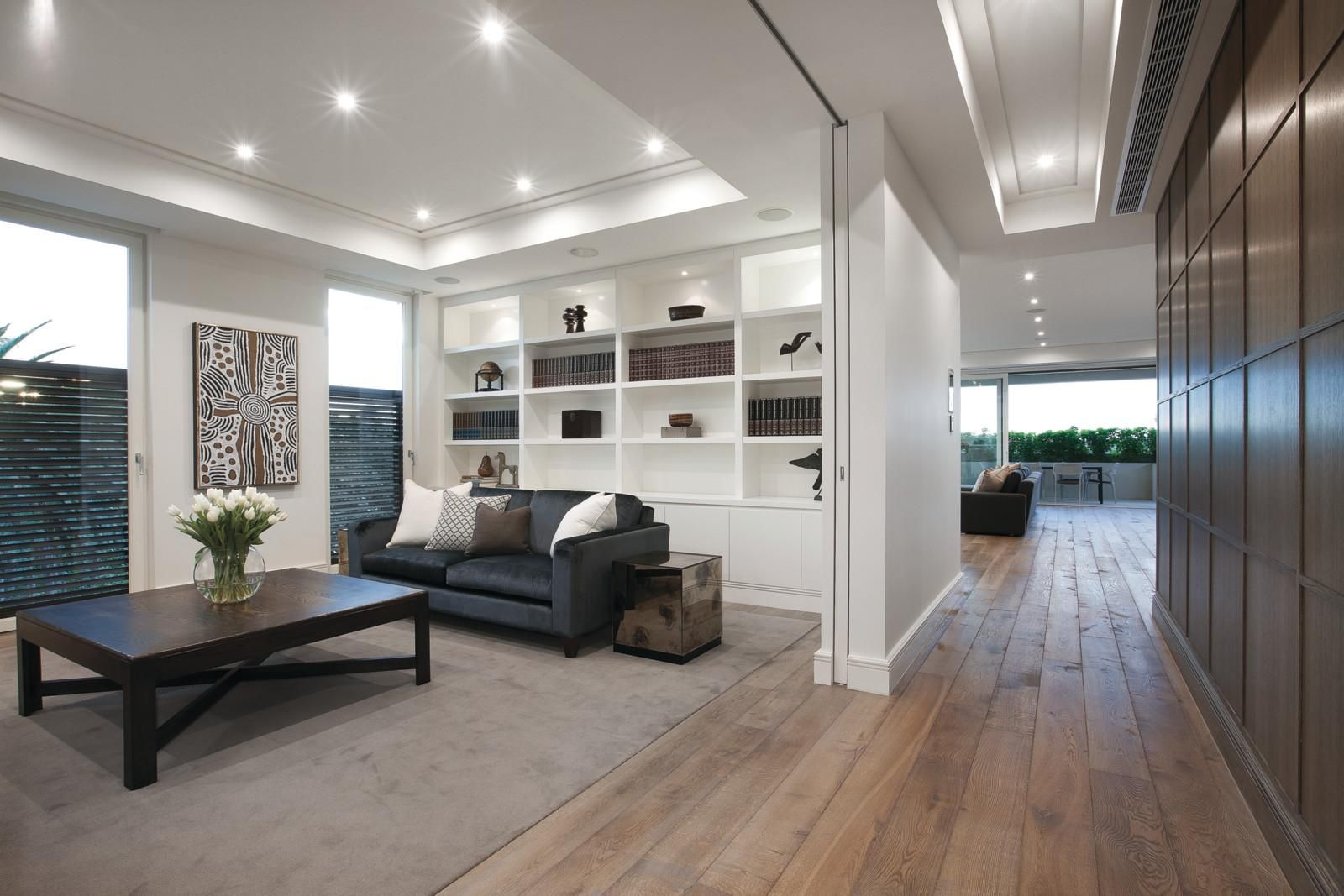 Duchateau Floors Installed At Subpenthouse 11 Copelen Street South Yarra Marshall White Duchateau Floors Basement Remodeling Farm House Living Room