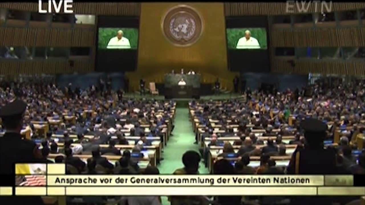 Papst Franziskus in den USA - Besuch der Vereinten Nationen (Rede)