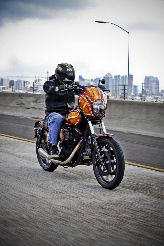 1991 FXR by San Diego Customs | Fxr | Harley dyna, Harley ...