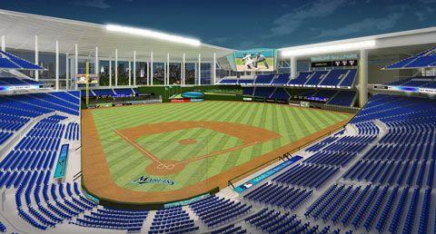 New Marlins ballpark Places I\u0027d like to go Miami Marlins
