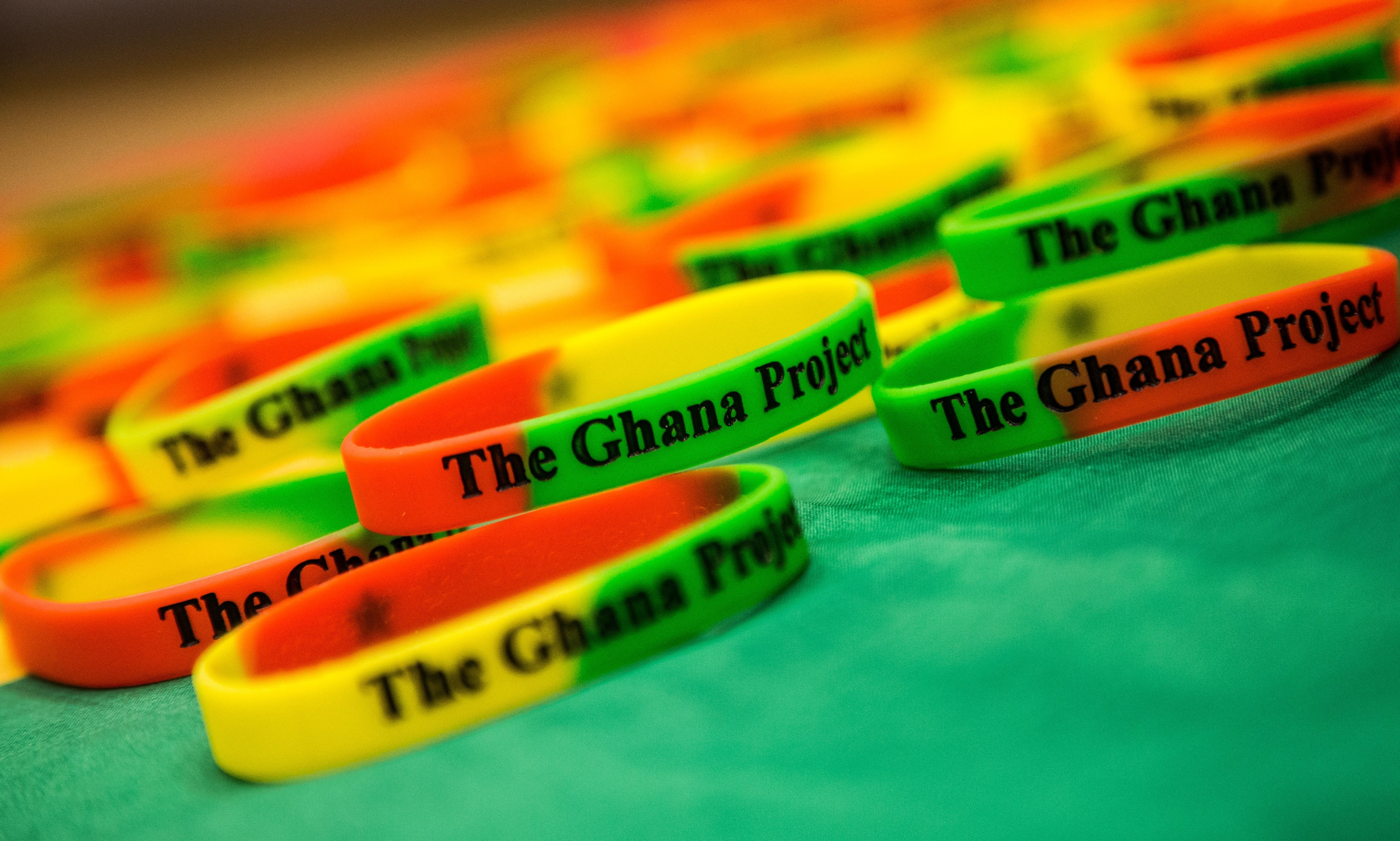 Bracelets for The Ghana Project