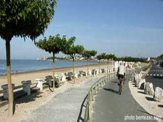 Piste Cyclable Plage De Saint Georges De Didonne Royan Charente