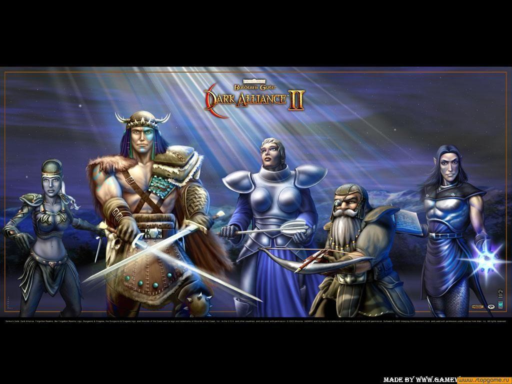 Baldur S Gate Dark Alliance Ii Baldur S Gate Playable Character