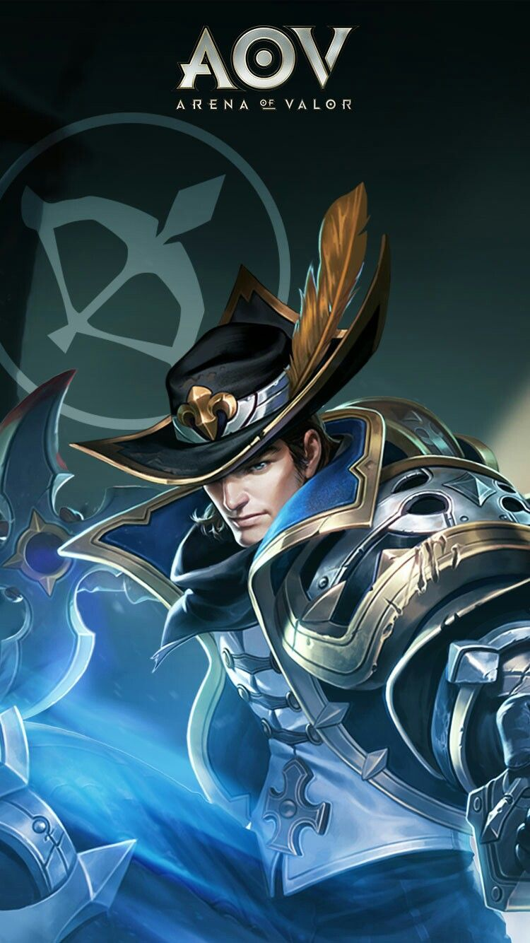 Vallhein Arena Of Valor Wallpaper Pinterest Hero Demon Hunter And Mobile Legends