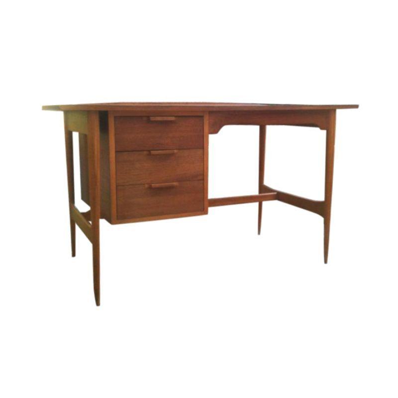 Mid Century Lane Desk 800 Est Retail 550 On Chairish Com Chic Office Decor Mid Century Desk Mid Century Modern Design