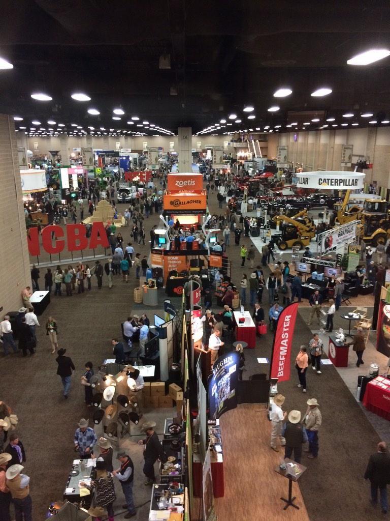 The Trade Show at the beefmeet in San Antonio. 2015