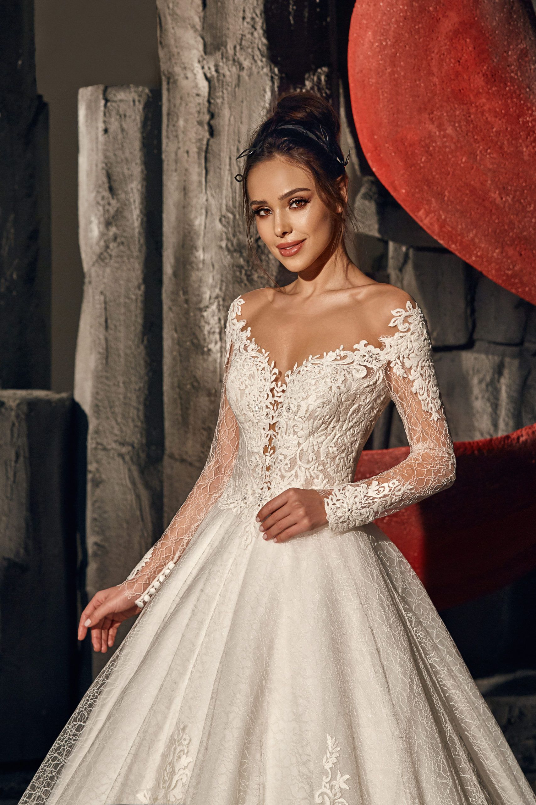 Lada Wedding Dress Black Pearl Collection Lace Sweetheart Wedding Dress Wedding Dress Necklines Wedding Guest Gowns [ 2560 x 1706 Pixel ]