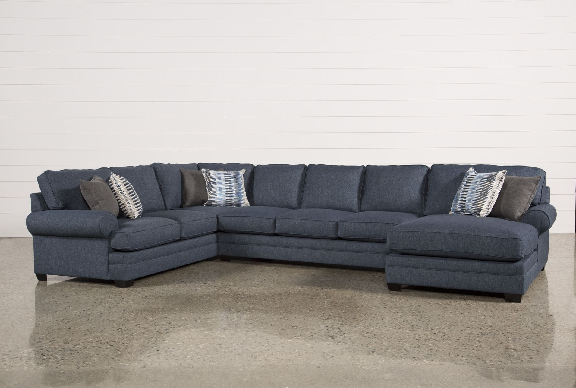 Best Our Karen 3 Piece Sectional Blends Elements From The Past 400 x 300