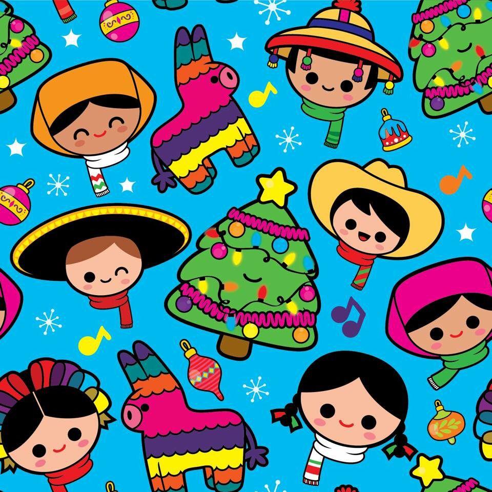 Navidad Mexicana Navidad Mexicana Munecas Mexicanas Arte Popular Mexicano