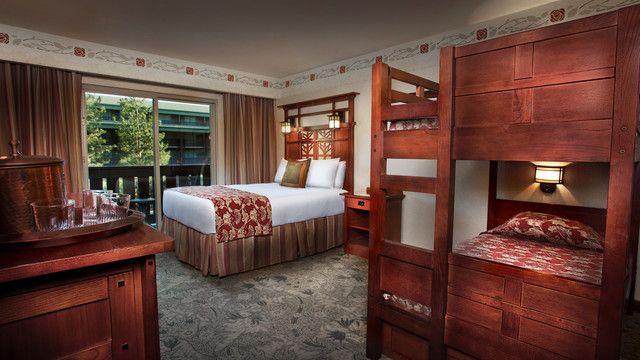 Disney 39 s grand californian hotel spa standard room - Disney grand californian 2 bedroom suite ...