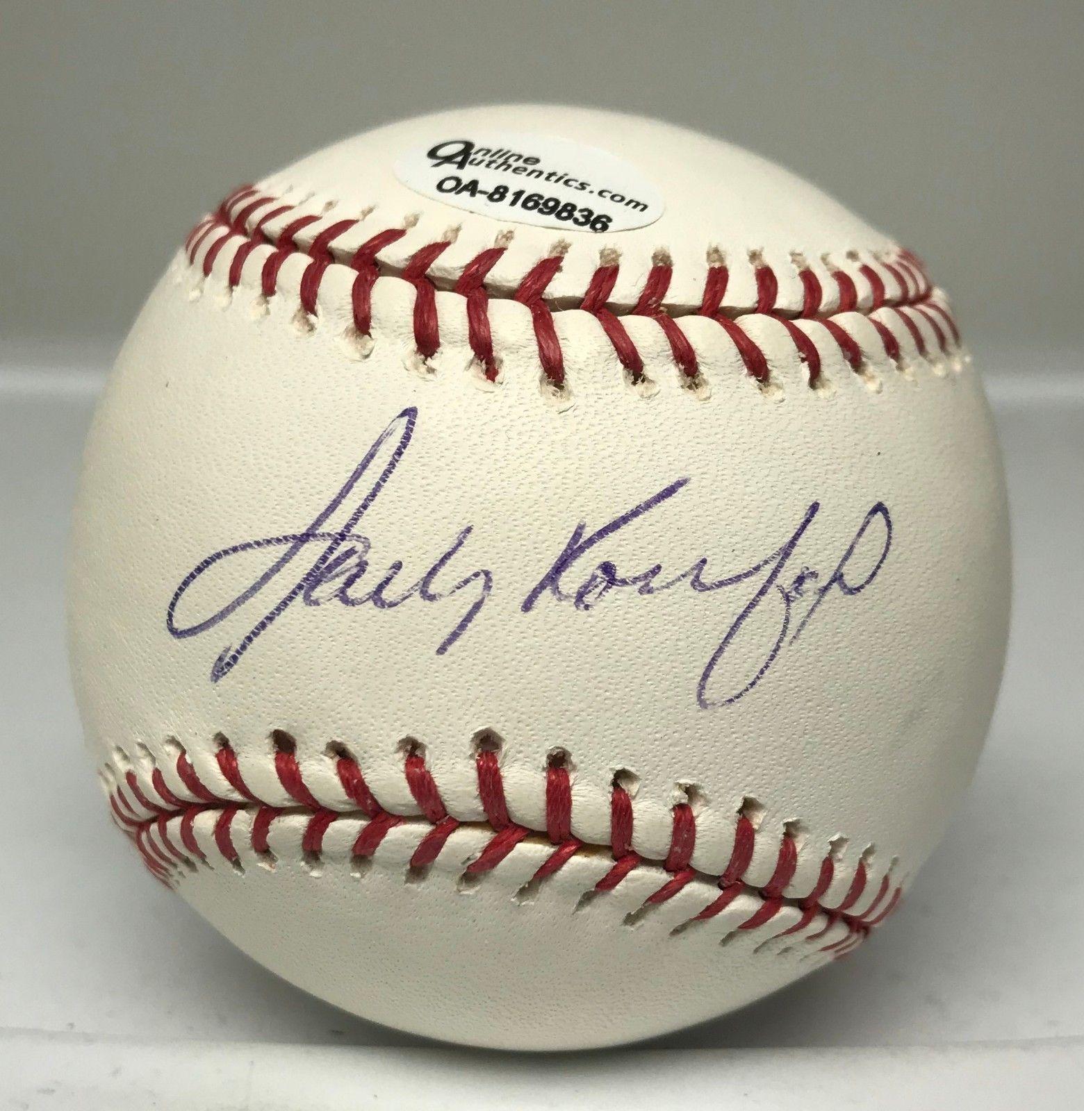 91a1083ad Sandy Koufax Signed Baseball Autograph PSA DNA 10 GEM MINT LOA Dodgers HOF   Baseball