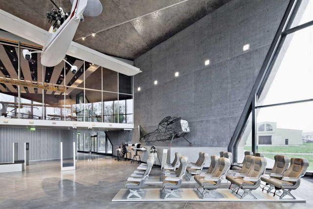 MUSEUM OF AVIATION AND AVIATION EXHIBITION PARK. Location: Krakow, Poland;  architects: Pysall Ruge Architekten, Bartlomiej Kisielewski;  client: Muzeum Lotnictwa Polskiego;  photo: Jens Willebrand; year: 2010