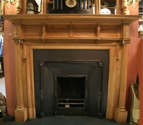 FOR SALE ORIGINAL ORNATE VICTORIAN FIREPLACE MANTEL Heres some