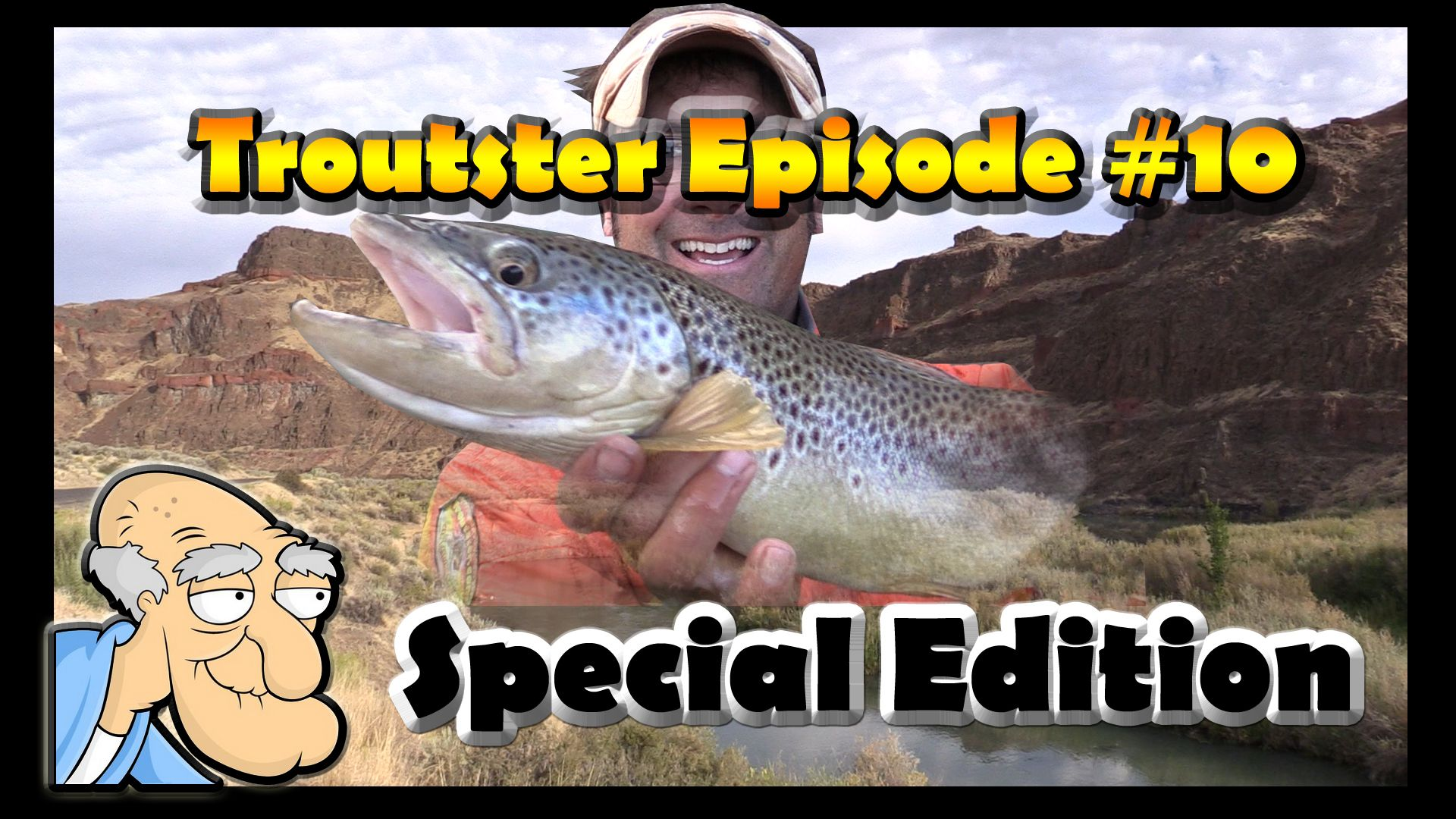 Troutster Episode 10 Oregon Browns On Dry Flies Brown Trout