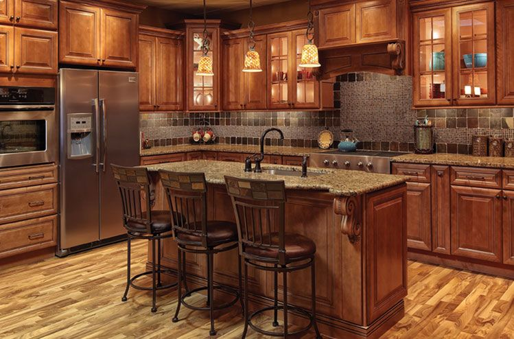 Society Hill Mocha Kitchen Cabinets Www Solidwoodcabinets Com Solid Wood