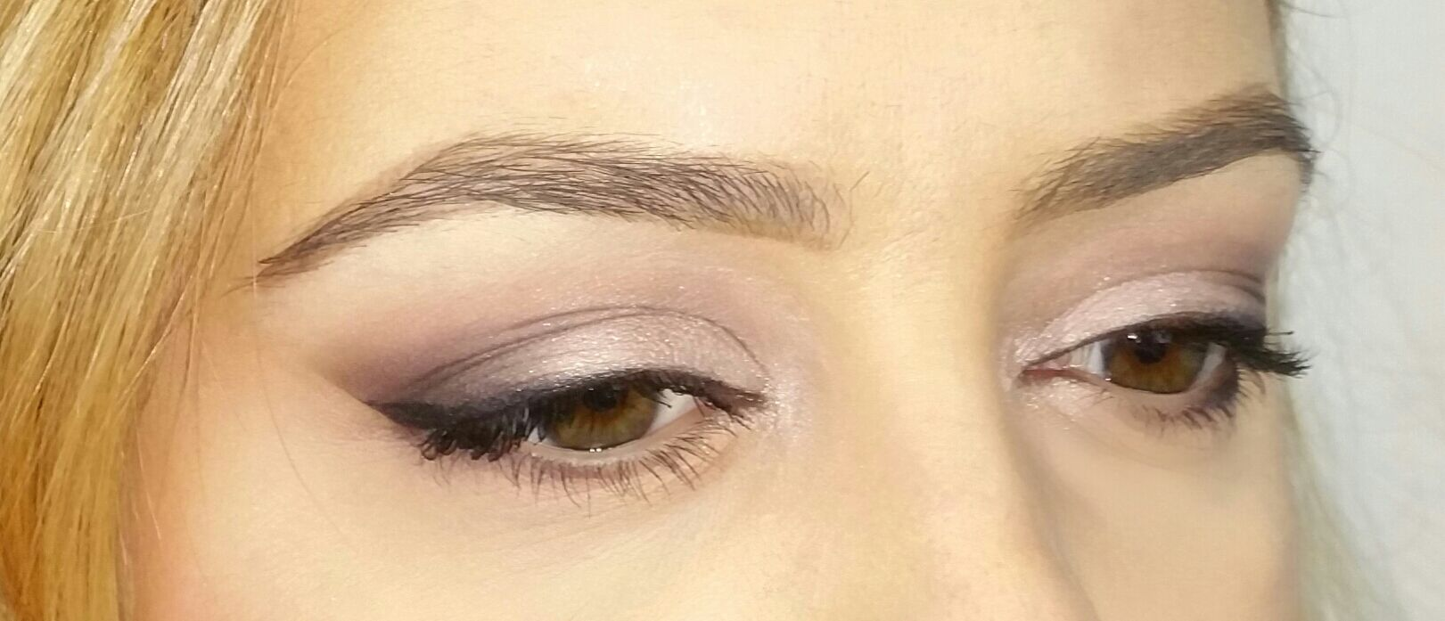 Pink and purple eye look